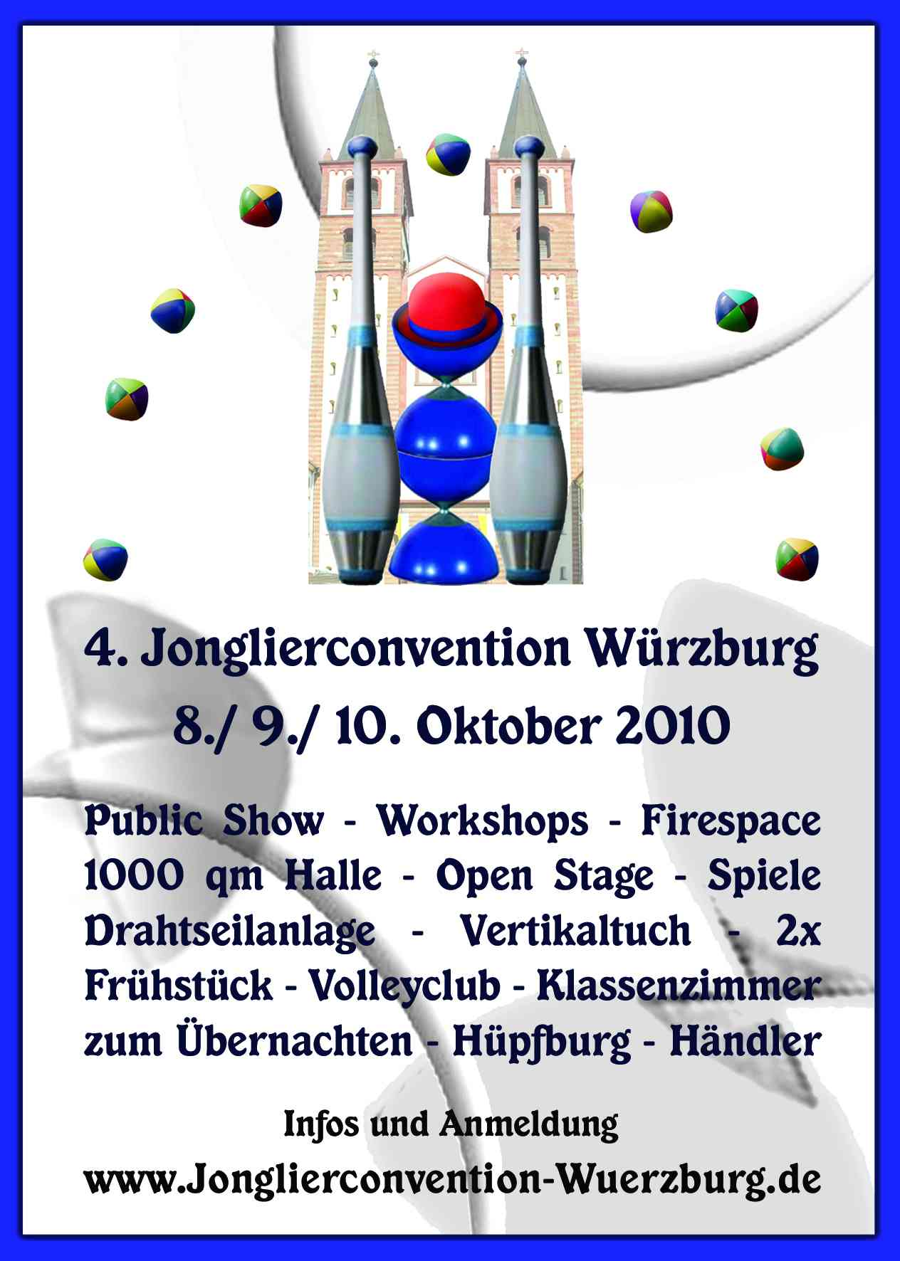 Jonglierconvention in w rzburg zirkusp dagogik for Ubernachten in wurzburg